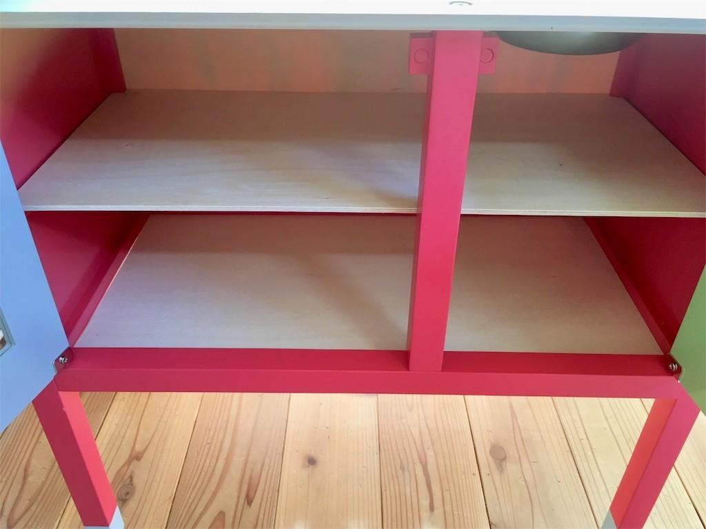 トイザらス木製ままごとキッチンJanodジャノーの収納