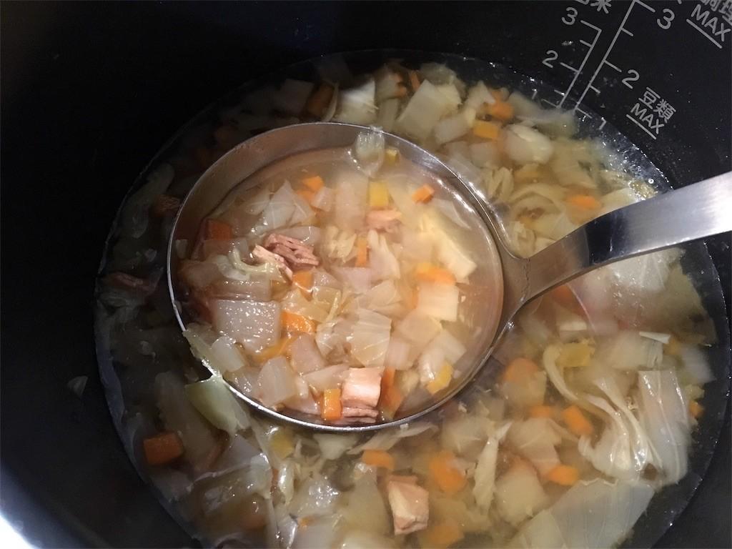 シロカ 電気圧力鍋 スープ