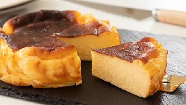 バスク風チーズケーキの作り方 , ひだまり Cooking