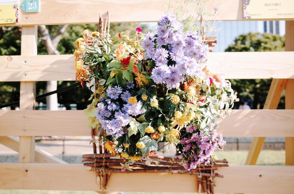 お花の作品