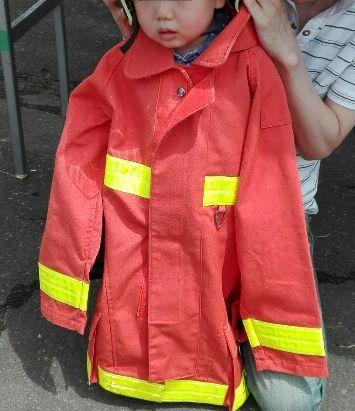 なりきり消防士さん