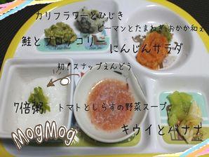 離乳食~モグモグ期~生後8か月