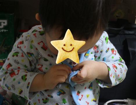 3歳、着替えができるようになってきました☆