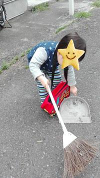 3歳 掃除 お手伝い