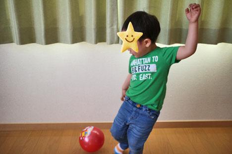 3歳 サッカー選手