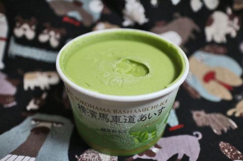 横濱馬車道あいす抹茶