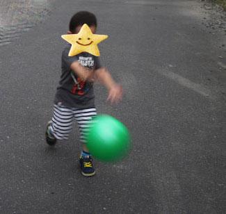 3歳 ボール遊び