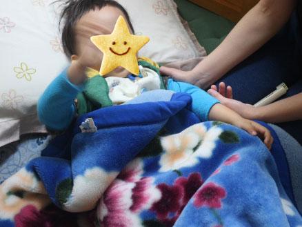 3歳7ヶ月 胃腸炎