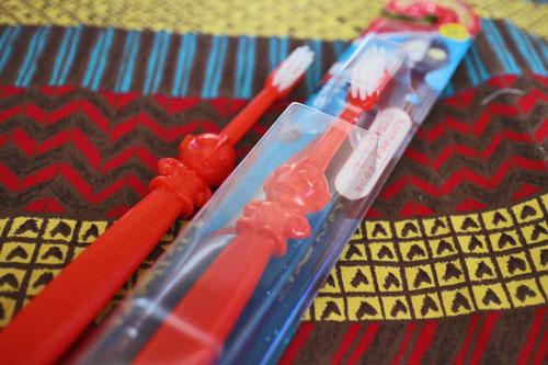 ウルトラマンの歯ブラシ