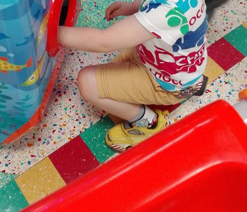 4歳3ヶ月 ゲームセンター
