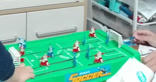 30ン年前のサッカーゲーム