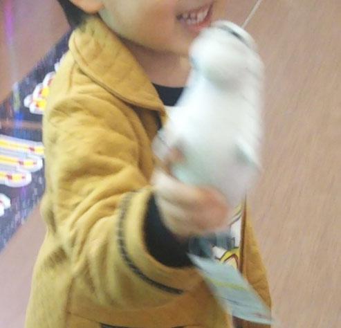 5歳 UFOキャッチャー