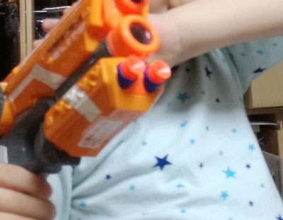 NERF(ナーフ)N-STRIKE エリート【おもちゃレビュー】
