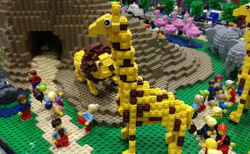 レゴパーク2019 ジオラマ