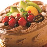 フルーツ生チョコクリームデコレーション