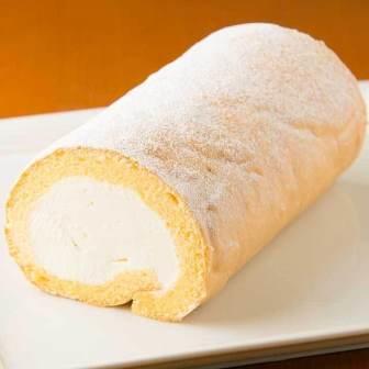 米粉の純生クリームロールケーキ【小麦粉不使用・米粉(あいちのかおり)使用】