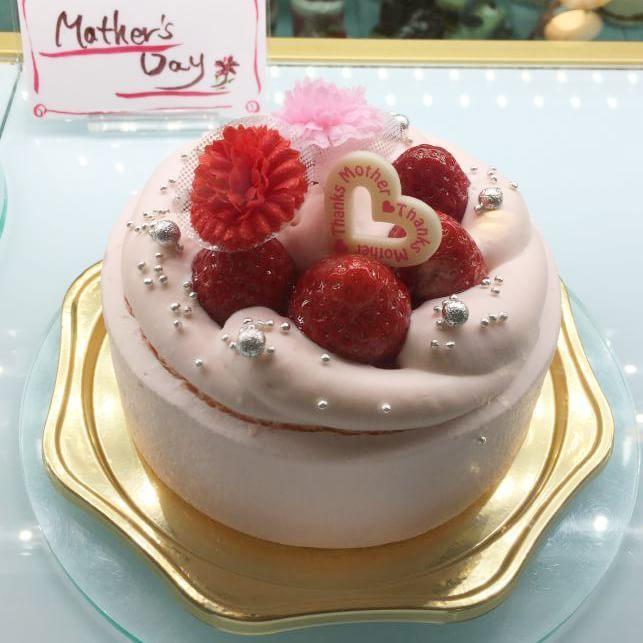 母の日限定ショートケーキ(ピンク)