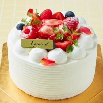 デコレーションケーキ(フルーツいろいろ)