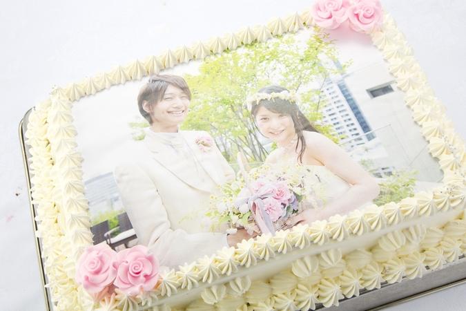 世界に1つだけのオリジナルプリントケーキ【S】(30×20cm)