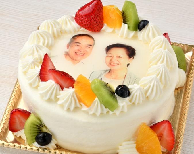 生クリーム 写真ケーキ