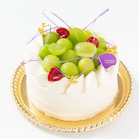 マスカットショートケーキ