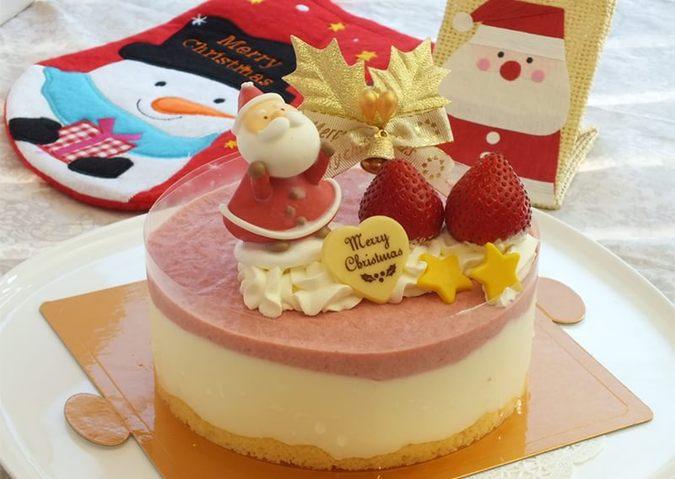 【クリスマス限定】ストロベリーレアチーズ