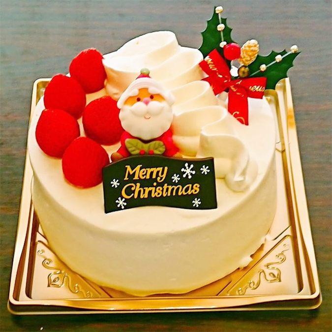 【クリスマス限定】クリスマス生クリームデコレーション