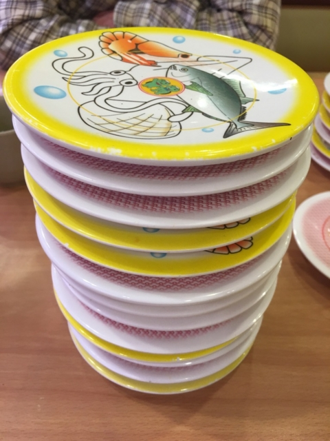 回転寿司千枚舌慣らし