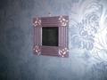 アジアンテイストの鏡 800円 40cm×40cm位