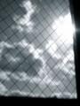[モノクロ][空][雲]