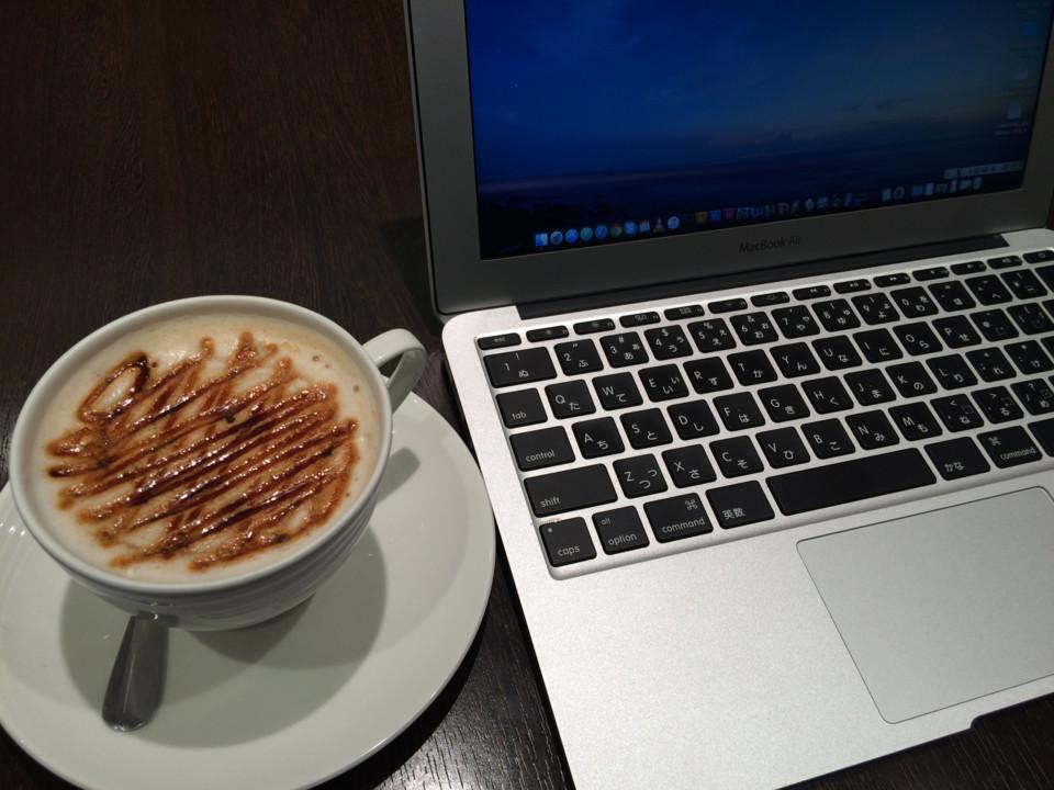 カフェで広げると「仕事してる雰囲気」だけは出せる