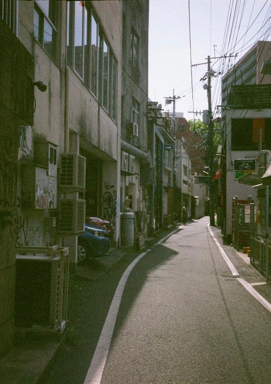 熊本 上通・裏道