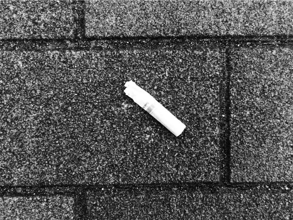 ポイ捨てたばこ