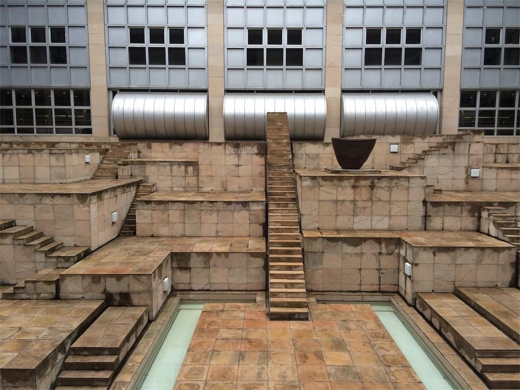 博物館中庭