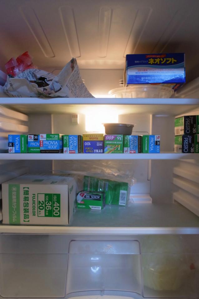 今の冷蔵庫の中身