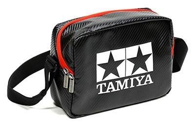 タミヤ ボックスショルダー(黒・赤)