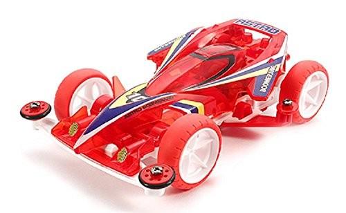 ミニ四駆特別企画商品 スーパーミニ四駆 アストロブーメラン クリヤーレッドスペシャル (スーパー1シャーシ) 95274