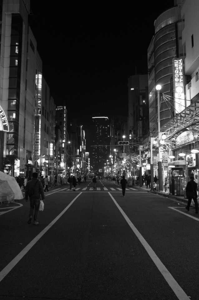 神戸三宮・夜の歩行者天国