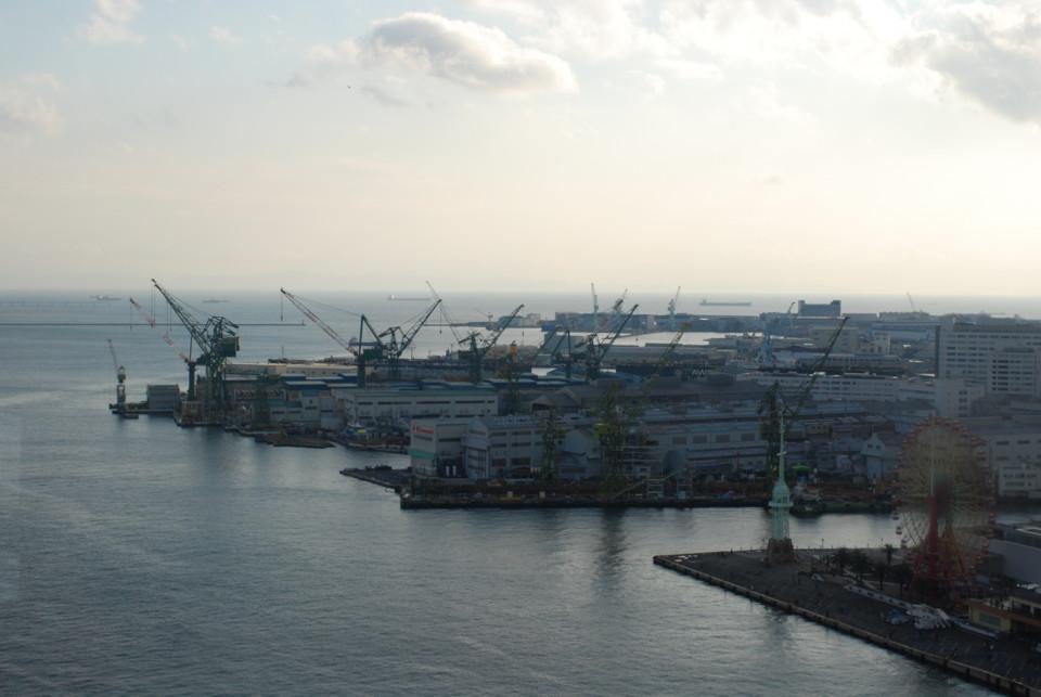 神戸港・ガントリークレーン