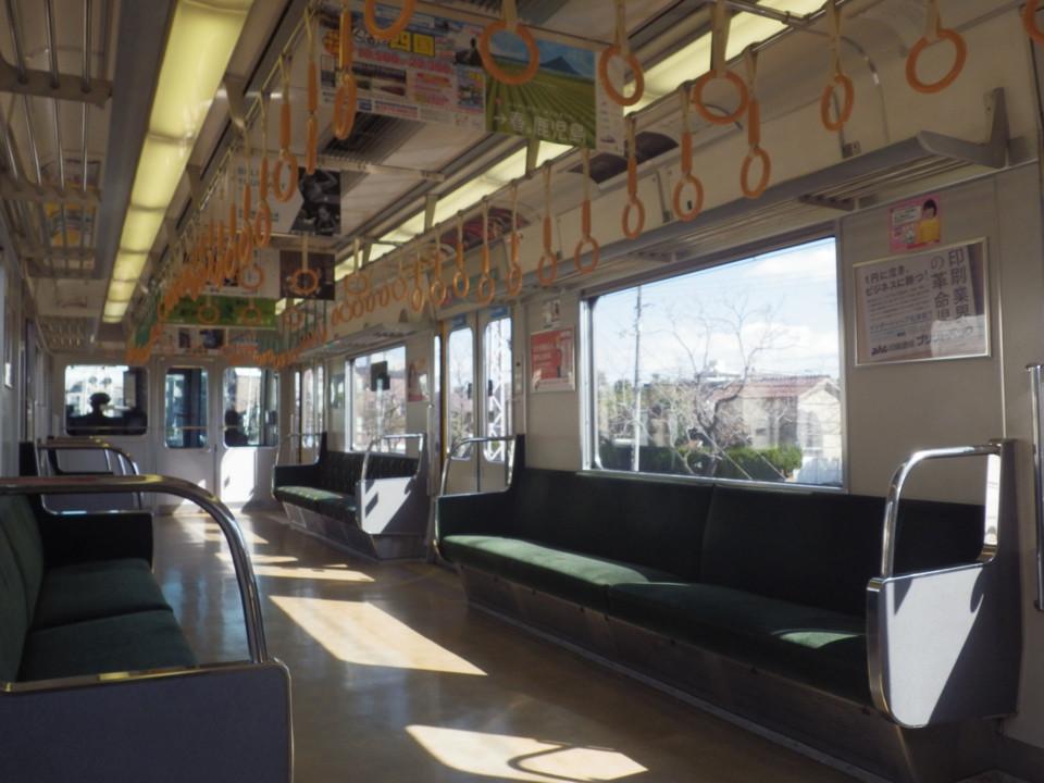 ある日の電車