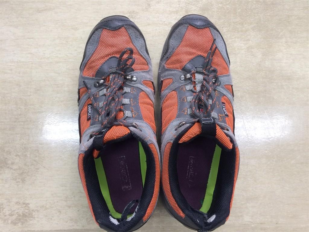 今履いてる靴