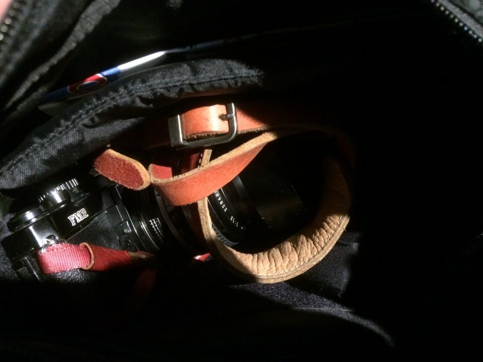 カバンのなかのカメラ