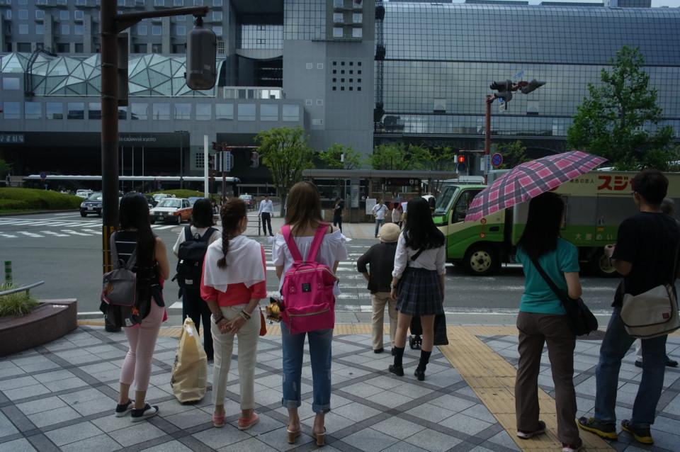 京都・夏の街角