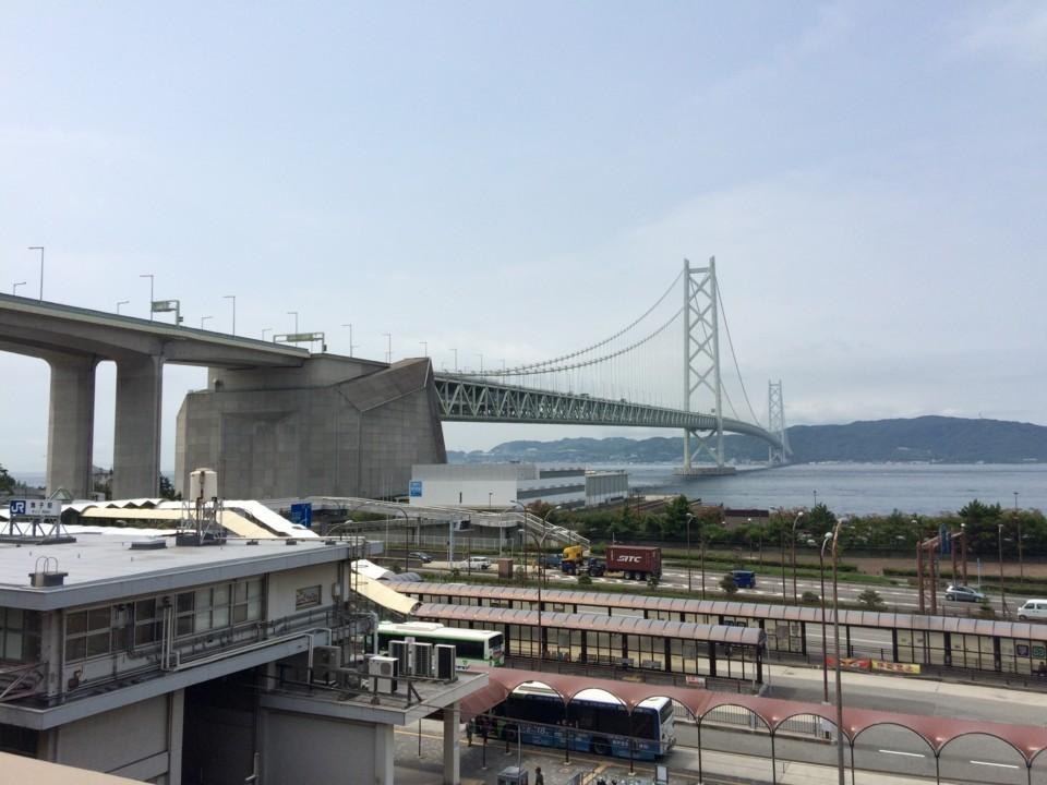 明石海峡大橋(舞子駅より)