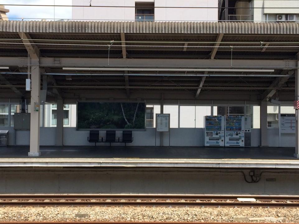 西明石駅新幹線ホーム
