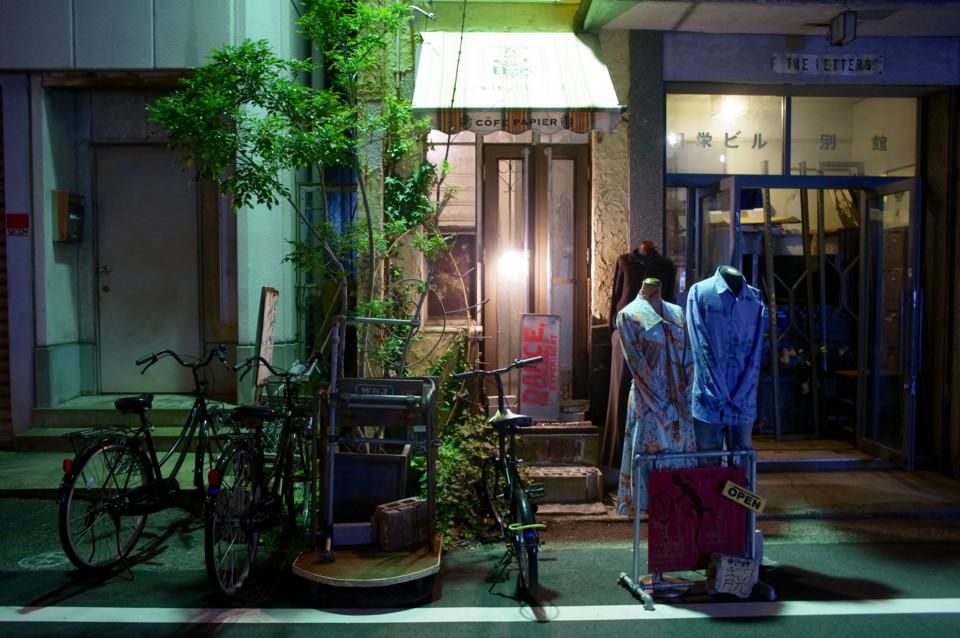 元町・夜の雑貨店