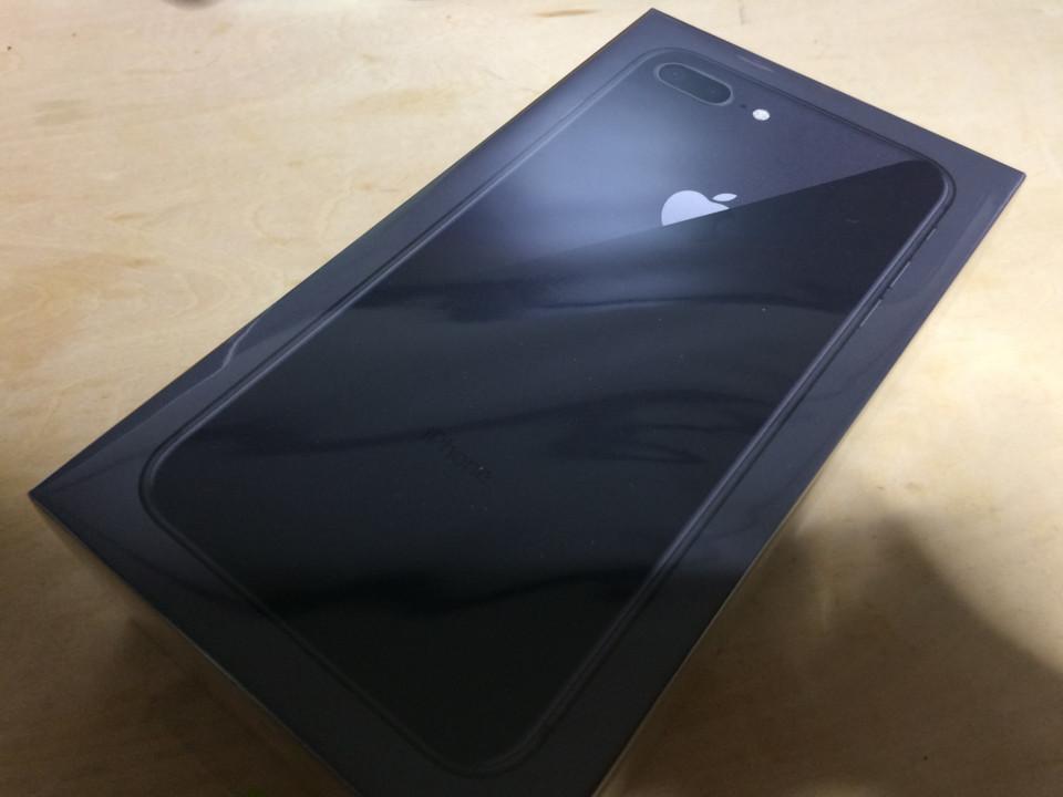 iPhone8 Plusとどいた
