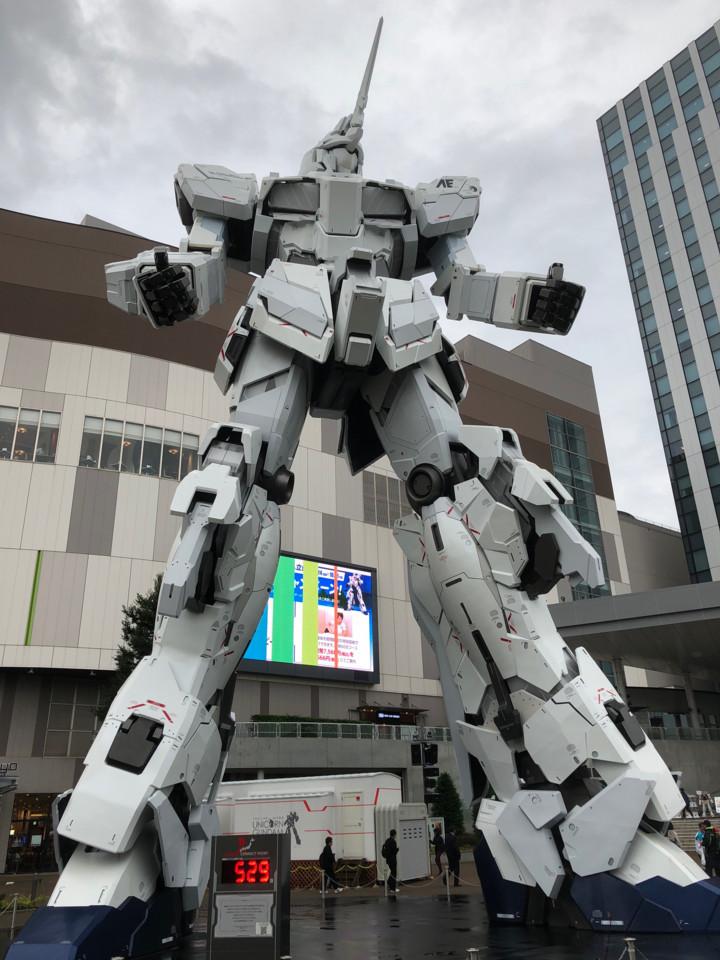 お台場ユニコーンガンダム正面4(ユニコーンモード)