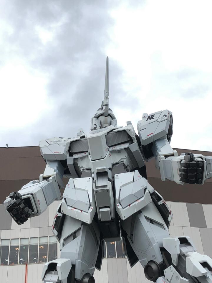 お台場ユニコーンガンダム正面3(ユニコーンモード)