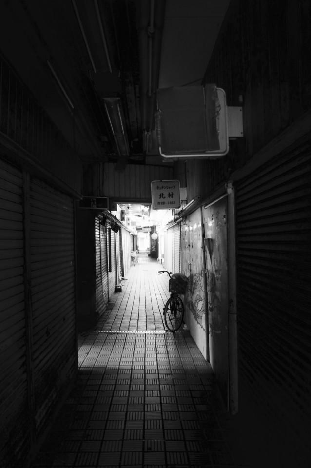 長田にあった商店街